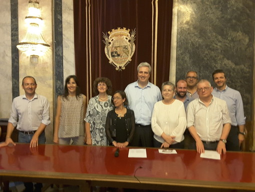 La Giunta comunale cuneese, guidata dal sindaco Federico Borgna