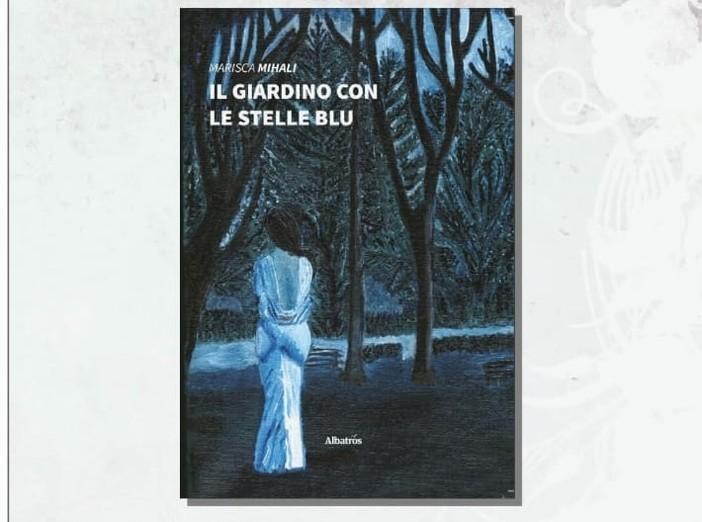 """Copertina del libro """"Il giardino con le  stelle blu"""""""