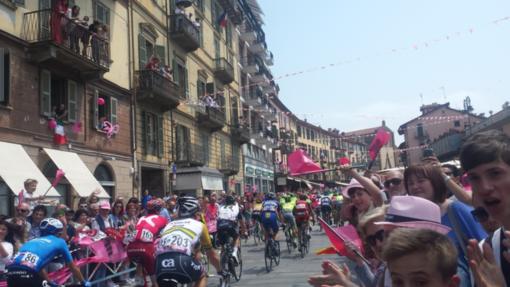 Giro d'Italia a Saluzzo