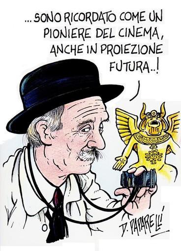 Il vignettista Paparelli omaggia Giovanni Tomatis, a 150 anni dalla nascita