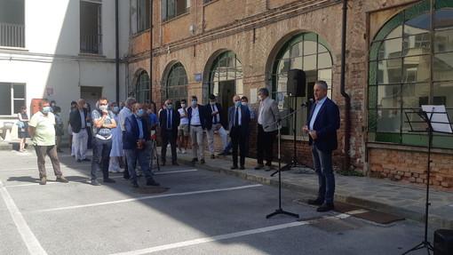 Giovanni Damiano presidente dell'associazione Officina delle idee per il futuro dell'Ospedale di Saluzzo