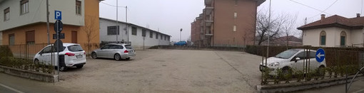 Aperto il nuovo parcheggio di via Vittorio Veneto a Genola