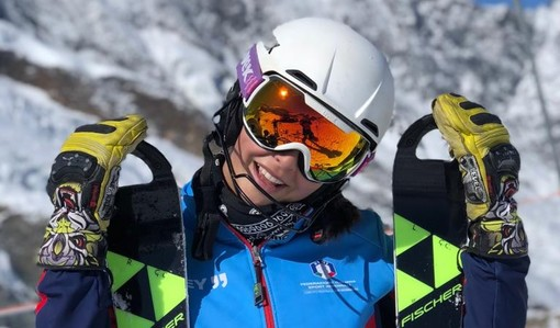 Sci alpino: l'albese Giulia Currado Vietti si aggiudica il gigante FIS Cittadini di Santa Caterina Valfurva