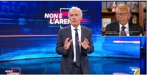 Ghisolfi ritorna da Giletti su La7, nell'Arean del match politica-economia