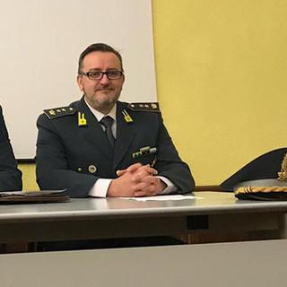 Il tenente colonnello delle Fiamme Gialle Michele Pagnotta lascia Cuneo per andare a comandare il Gruppo di Imperia