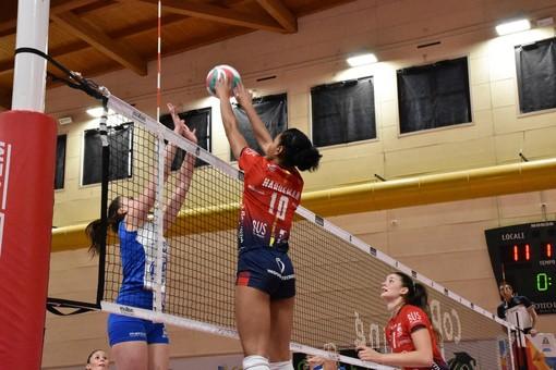 Leah Hardeman in azione contro Sassuolo (foto Marianna Bertoni)