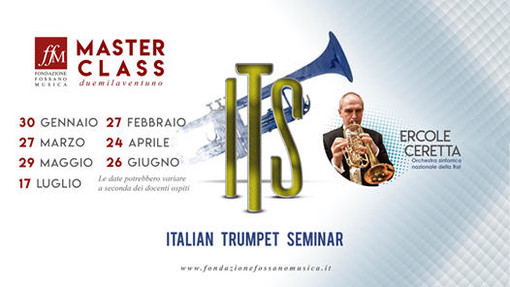 Aperte le iscrizioni per le Masterclass di Fondazione Fossano in Musica: un'occasione di alto perfezionamento