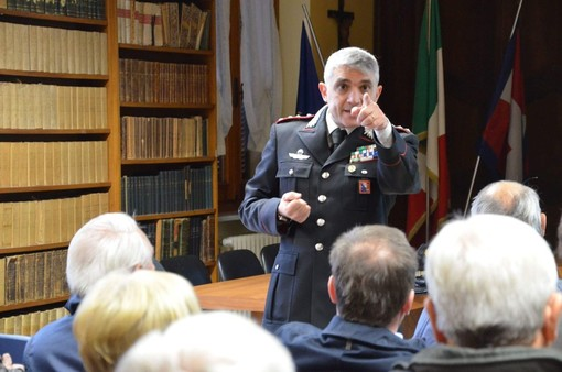Proseguono gli incontri formativi dei carabinieri su truffe e raggiri: questa volta tocca a Cervere