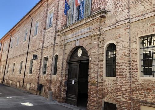 La sede dell'Istituto Comprensivo Taricco di Cherasco