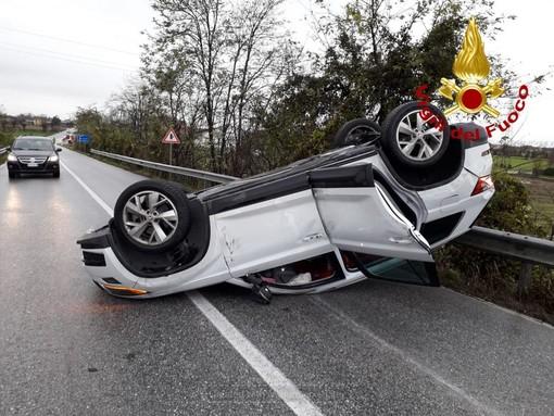 Magliano Alpi, incidente stradale sulla SP422: tre auto coinvolte