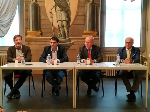 Conferenza stampa restauro palazzo Burgos