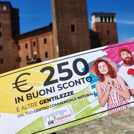 Fossano: 250 euro in buoni sconto ai clienti per sostenere il commercio di vicinato