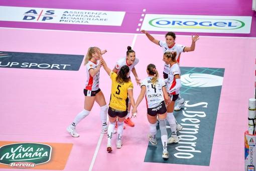 """Volley serie A1 femminile, Cuneo sconfitta da Roma 0-3. Noemi Signorile: """"Noi non siamo queste"""" (VIDEO)"""