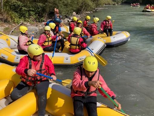 A lezione… sulle rapide dello Stura: scuola di rafting per gli allievi del Comprensivo Bossolasco-Murazzano