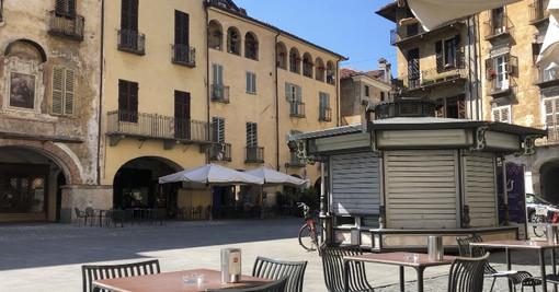 Savigliano, bagarre in Consiglio comunale sull'edicola di piazza Santarosa che si trasformerà in Ufficio Turistico