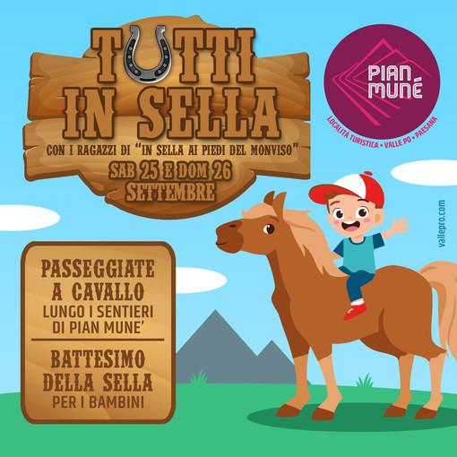 Pian Munè di Paesana, due giorni di simbiosi con i cavalli