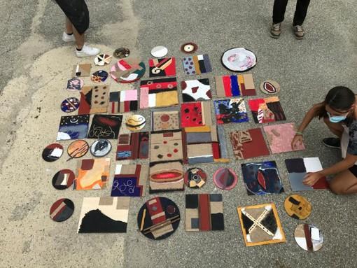 Govone: il progetto dedicato a Burri realizzato dagli studenti del liceo Pinot Gallizio di Alba
