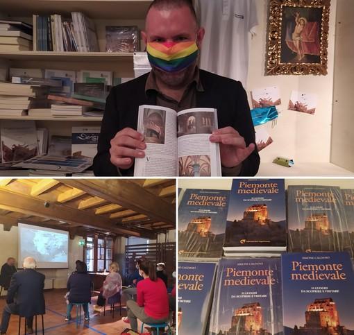 """Cinquantacinque luoghi da scoprire e visitare: presentata la guida """"Piemonte Medievale"""" di Simone Caldano"""