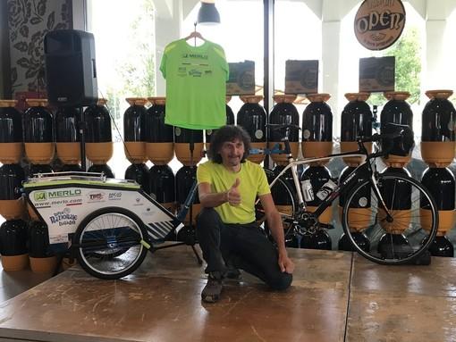 Dall'Etna al Monviso: Giovanni Panzera pronto a percorrere in bici tutta l'Italia in un abbraccio lungo 3000 chilometri