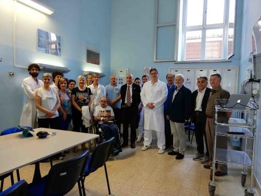"""Inaugurato all'ospedale di Fossano il nuovo """"salotto"""" per la riabilitazione neurologica"""