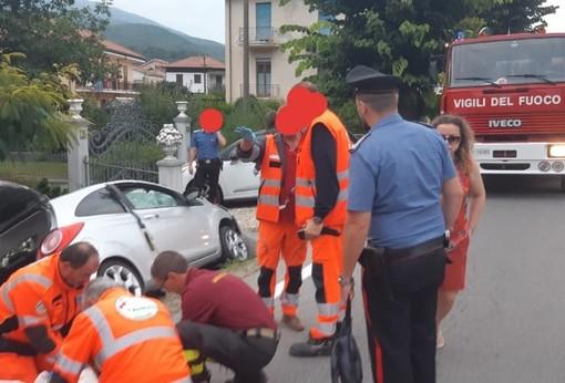 Incidente stradale a Garessio: due feriti lievi