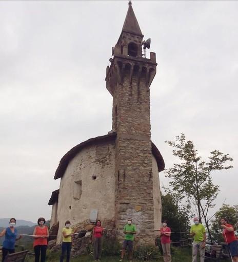 A Peveragno ristrutturato il tetto della cappella San Giorgio