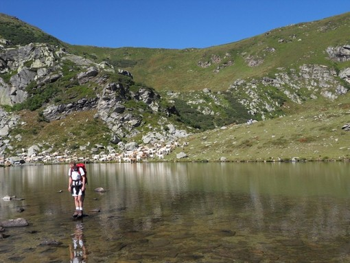 Pian Munè di Paesana, trekking ai Laghi Luset