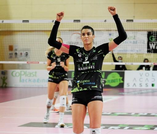 La cuneese Karola Dhimitriadhi confermata al Sassuolo (foto profilo facebook Green Warriors)