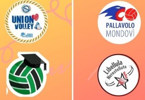 I loghi delle quattro società partecipanti al Torneo