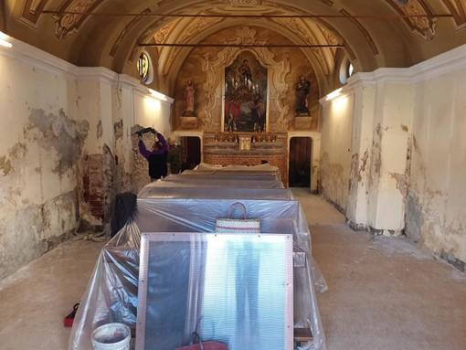 Restaurata la Cappella di San Rocco di Busca