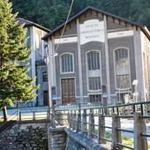 La centrale idroelettrica in località Calcinere, a Paesana