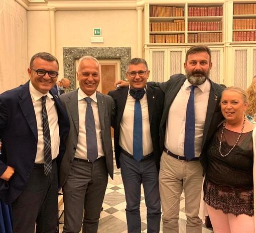 Da sinistra, Centinaio, Bergesio, Vallardi, De Vecchis e Sbrana