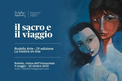 """Rodello Arte: venerdì 29 maggio il secondo appuntamento online con la mostra """"Il viaggio e il sacro"""""""