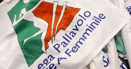 la bandiera della Lega (foto sito Legavolleyfemminile)