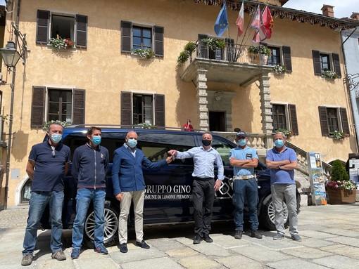 Limone Piemonte, siglata partnership con il gruppo Gino Spa: consegnato un Mercedes E-Vito elettrico