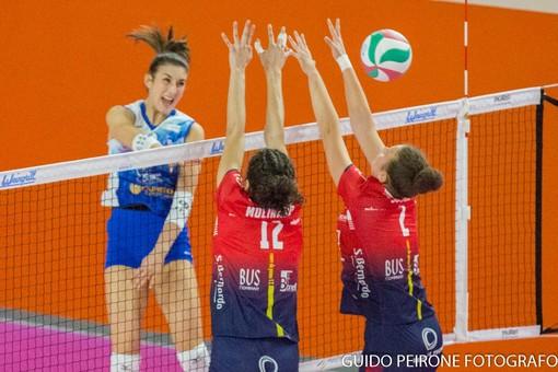 Un'immagine del match tra Pinerolo e Mondovì (foto Guido Peirone)