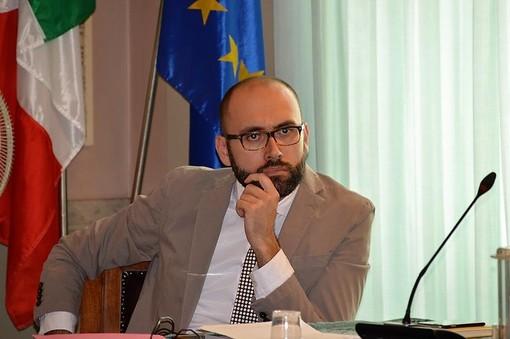 L'assessore allo Sport Luca Robaldo