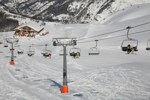 Incidente sulle piste di Limone Piemonte (Video)