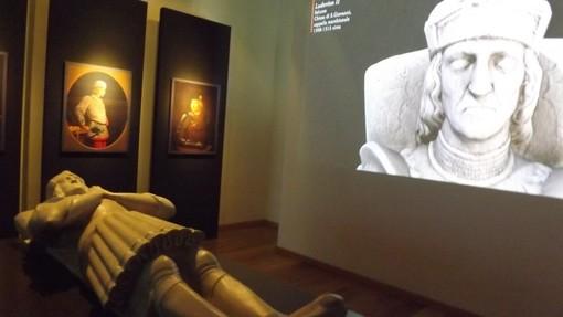 La sala dedicata a Ludovico II nel nuovo museo della Civiltà Cavalleresca