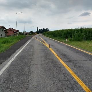 Cuneo, riprendono i lavori in Via del Bosco a San Pietro del Gallo