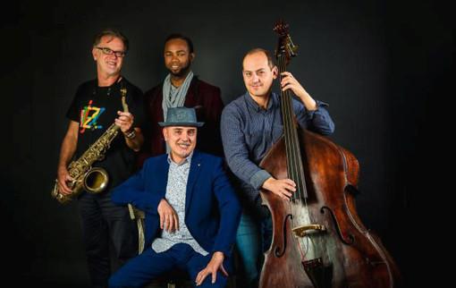 Luigi Martinale Quartet con Classwing Ensemble del conservatorio Ghedini di Cuneo si esibisce a Pinerolo