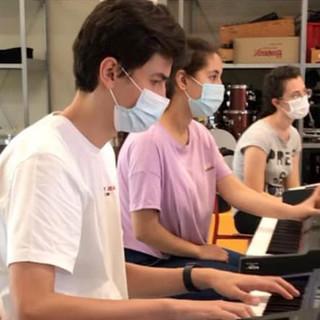 L'indirizzo musicale del Liceo Da Vinci di Alba è stato attivato tre anni fa. I primi allievi si preparano ad affrontare la quarta classe