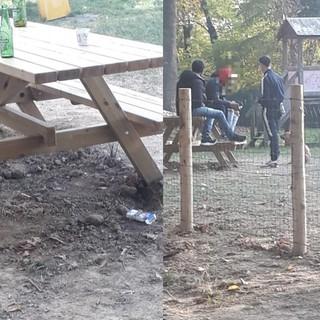 """Mondovì, la Lega interviene sui giardinetti della stazione: """"Aree gioco inclusive, ma ad esclusione dei bambini"""""""