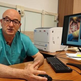 Cuneo, protesi allo sterno su misura per pazienti colpiti da tumori ossei