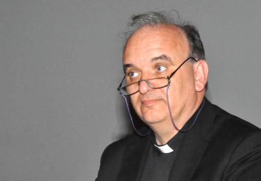 Il vescovo di Alba monsignor Marco Brunetti