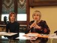 L'assessore Rosanna Martini (a destra) e Daniela Balestra, della Consulta Pari Opportunità