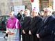 Monsignor Bartolomeo Bessone, primo da destra