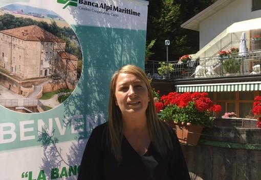 Marta Brancaleoni, responsabile nucleo Eventi della Banca Alpi Marittime
