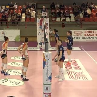 Volley A2/F: una Lpm Bam Mondovì a fasi alterne torna da Montecchio con due punti! Il Puma vince al tie-break