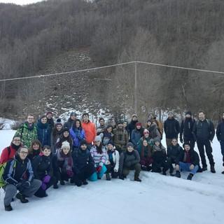 Tecniche di monitoraggio del lupo sulla neve: appuntamento sul campo a Casteldelfino